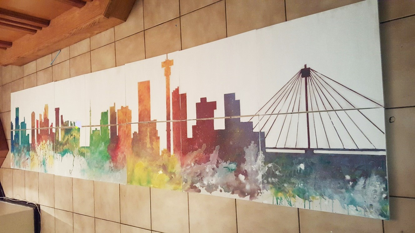 Team building Mural paintnig