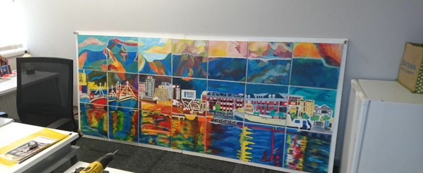 Another successful Team mural Painting completed