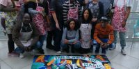 Mural Painting event Grundfos