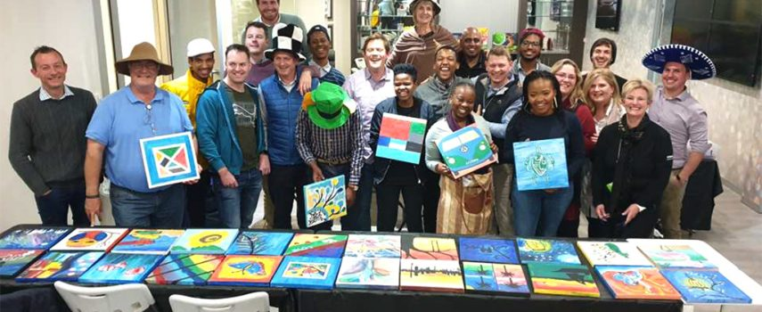 Britehouse Painting Event Success